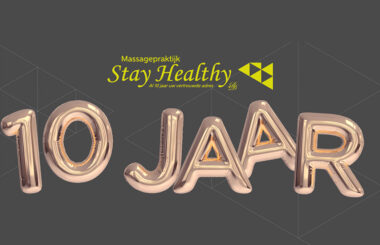 10 jaar Massagepraktijk Stay Healthy